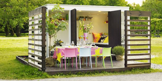 4 tips to decorate your garden with space