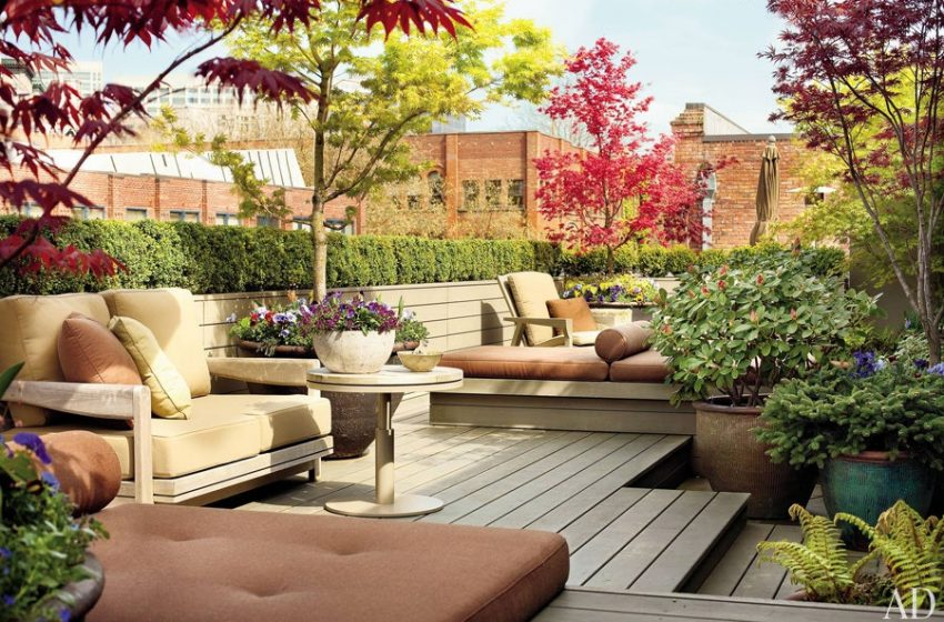 The Landscape outdoor decorating