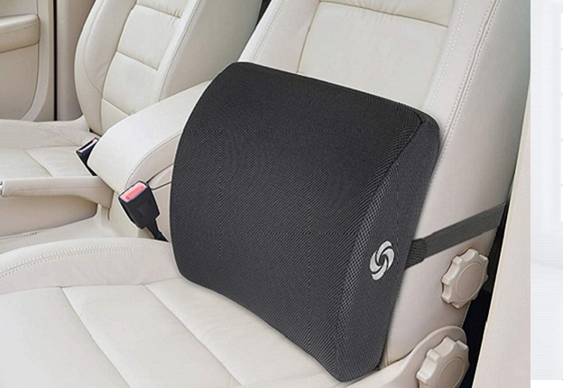 The Adjustable Lumbar Support PillowFor Car – No More Back Pain